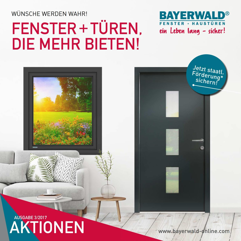 Bayerwald Haustüren 2017 q3 fensteraktion bayerwald fenster haustüren