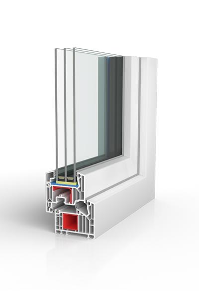 Kunststofffenster BW82