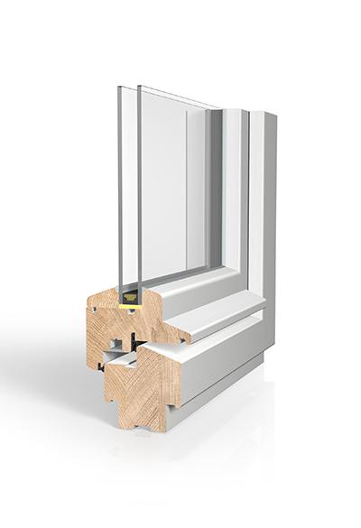 Holzfenster H80D Denkmalschutz SAFE