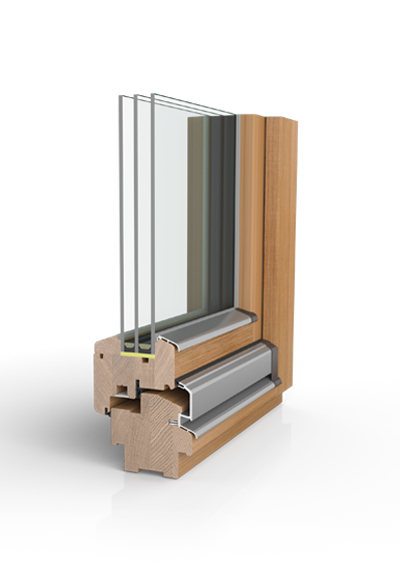Holzfenster H90 DESIGN