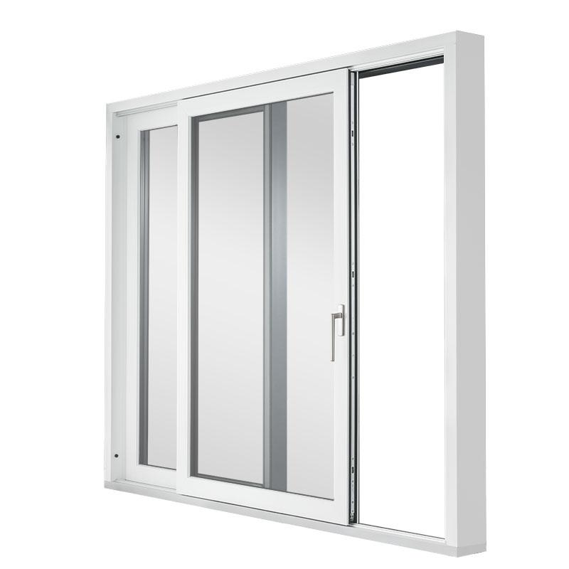Kunststoff/Alu HST85 perspektivisch innen offen